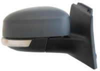 Ford Focus [11-18] Complete Electric Adjust & Heated Mirror Unit - Primed